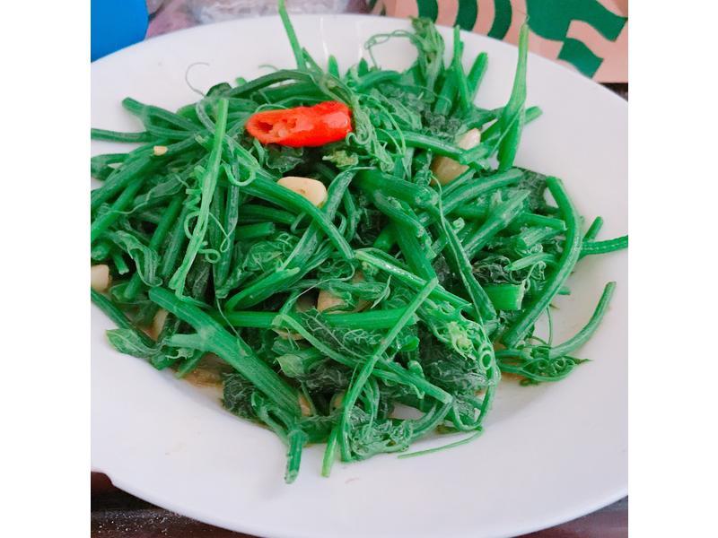 蝦醬龍鬚菜