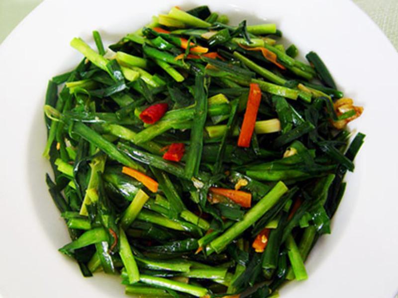 【厚生廚房】蒜香韭菜