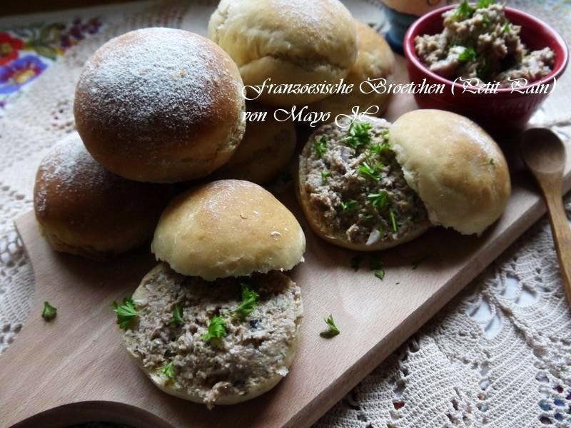 法國 小圓白麵包
