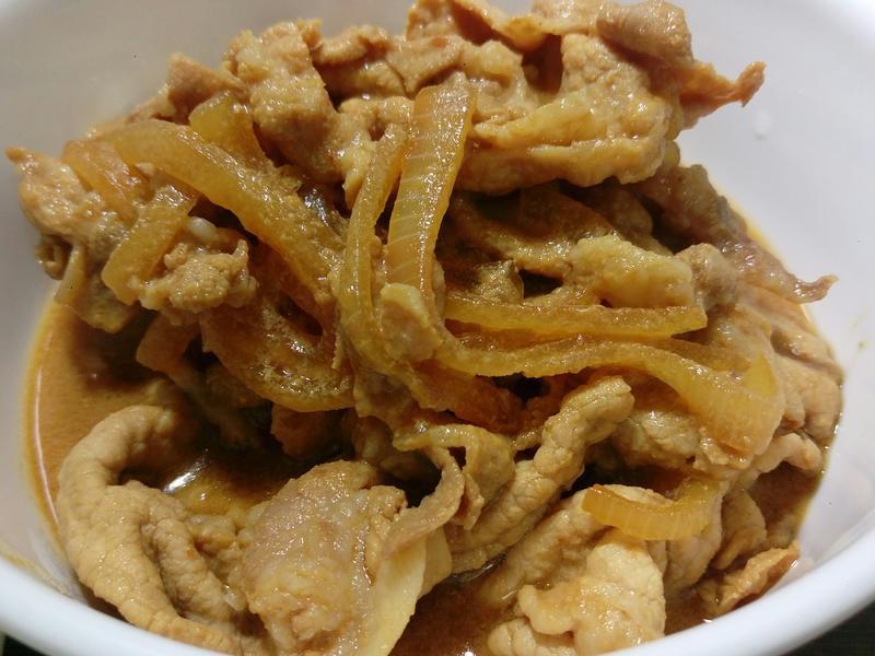 膜拜聖凱師-橙汁豬肉蓋飯