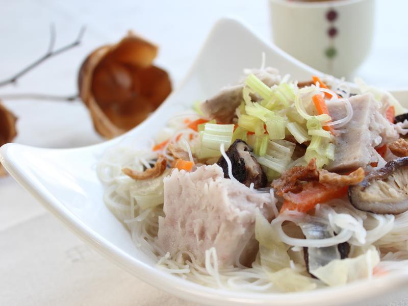 芋頭米粉湯 #調理美味