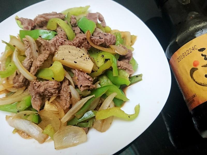 青椒醬炒牛肉【淬釀全菜單挑戰賽】