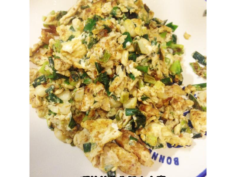 簡單好吃的蔥花蛋
