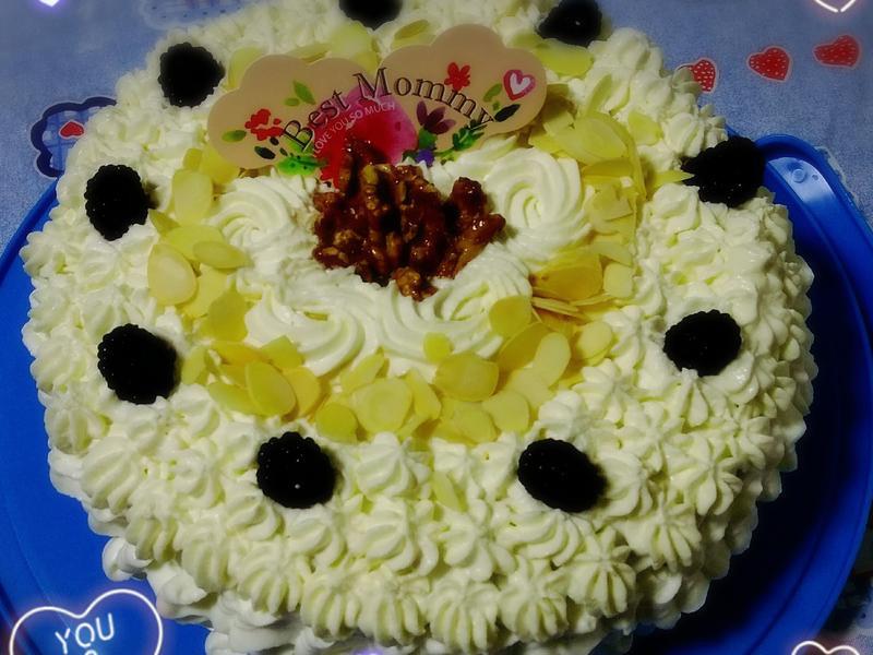 芝麻棉花蛋糕
