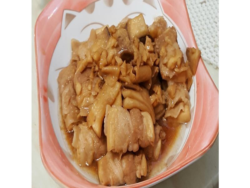 杏鮑菇豬肉捲
