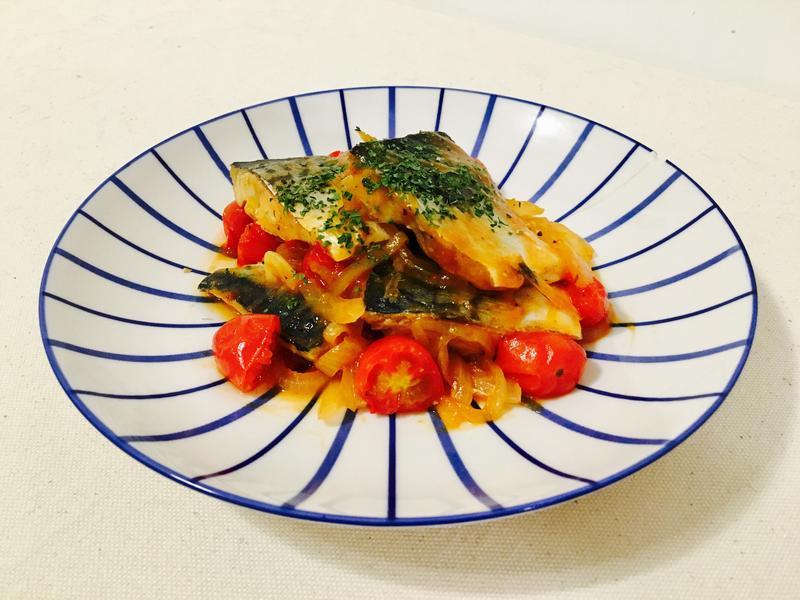 義式番茄鯖魚