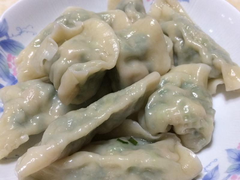 媽媽味韭菜水餃