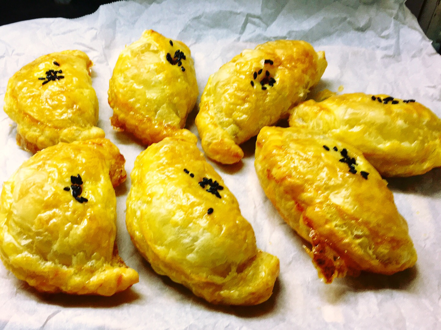 Curry puff 簡易版咖哩餃