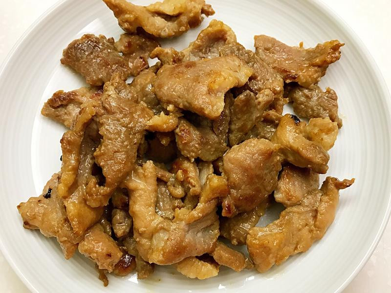 お弁当-170526-照燒肉片