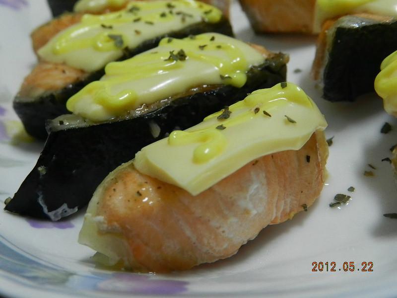 "ㄚ曼達的廚房~""芝司樂""烤鮭魚"