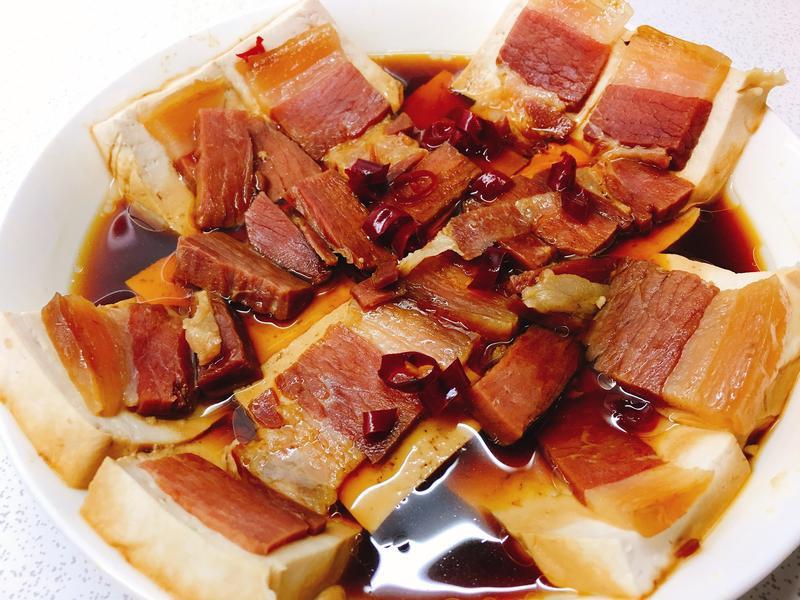 豆腐家鄉肉