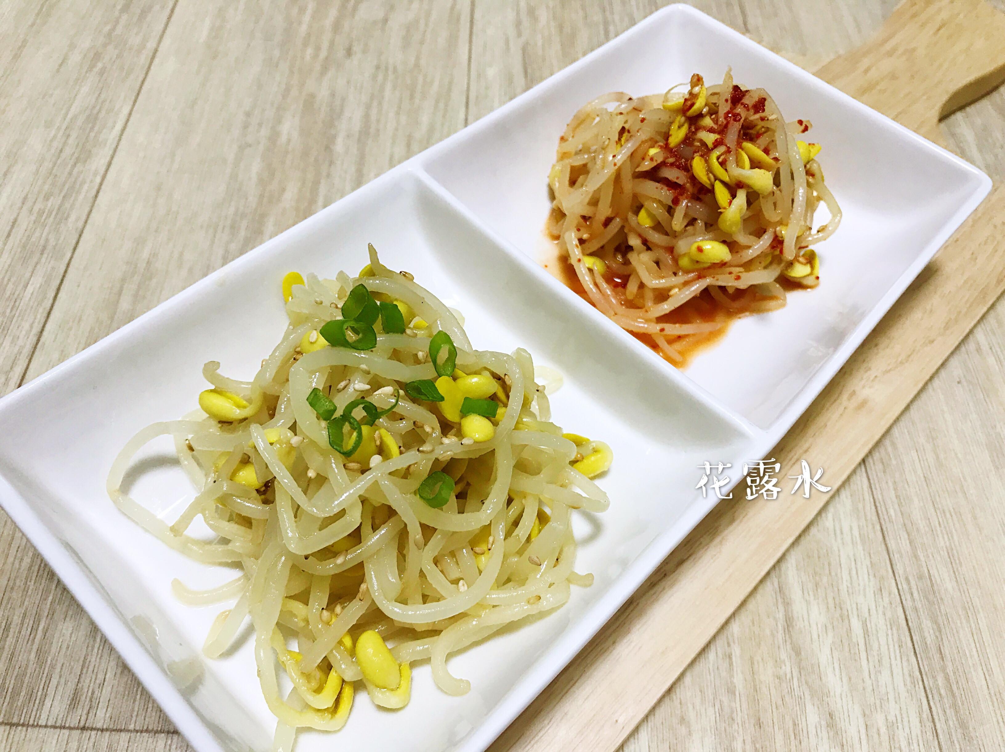 《韓式涼拌豆芽菜》簡單做法