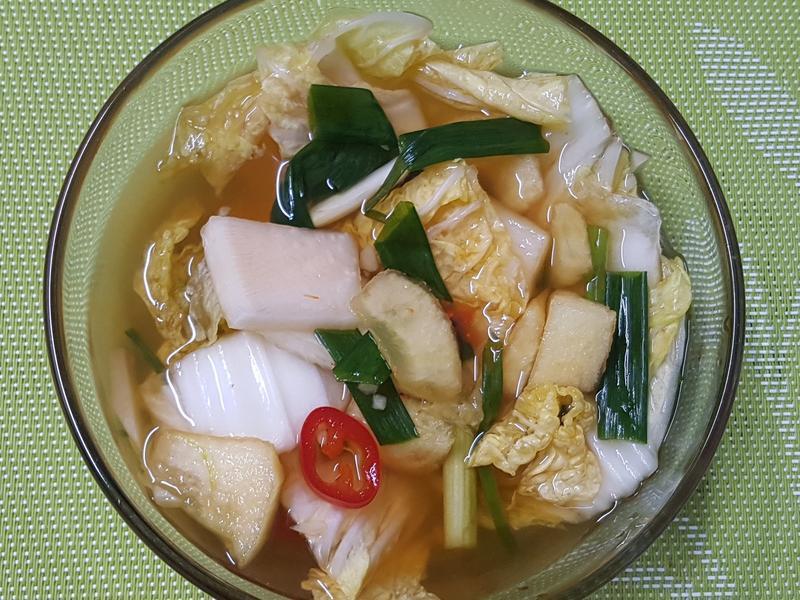 (韓式)水泡菜 나박김치