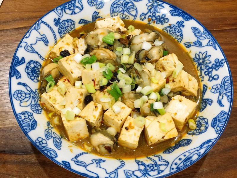 豆鼓鮮蚵豆腐