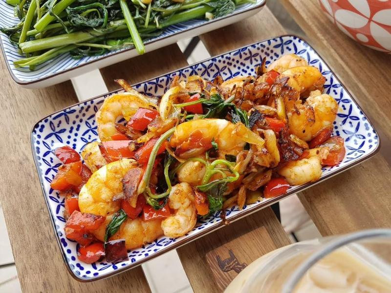 西班牙大蒜紅椒蝦