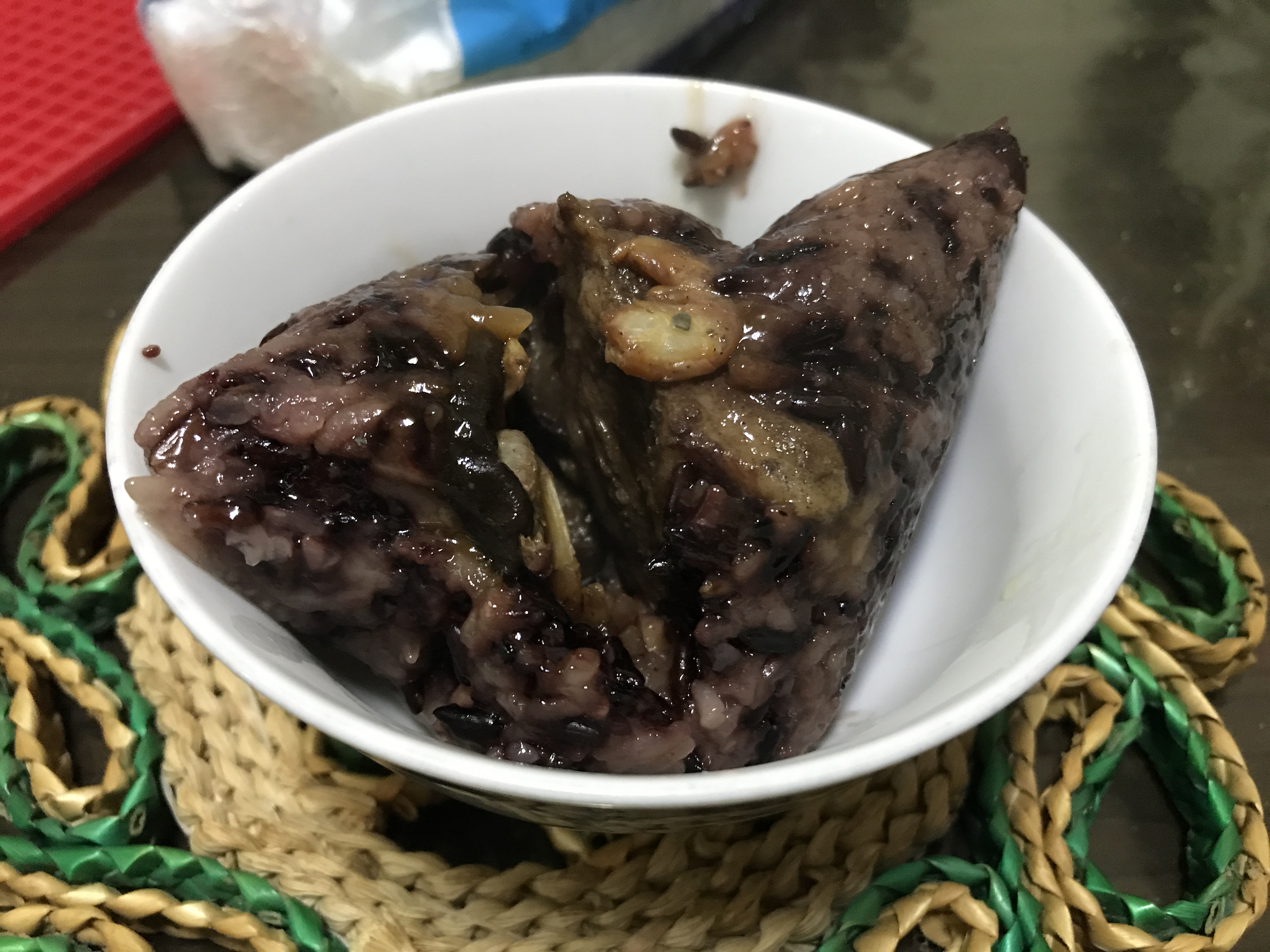 黎媽媽飄香紫米粽(南部粽)