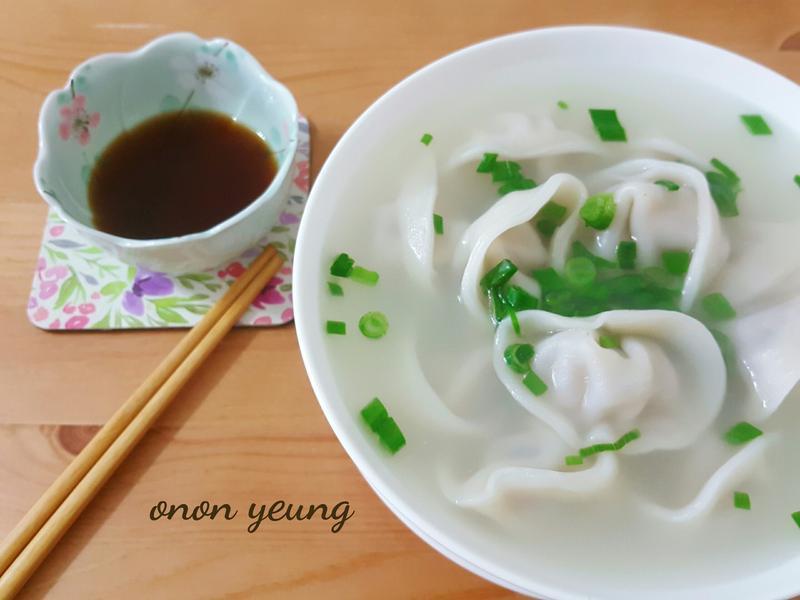 香菇薑蒜水餃