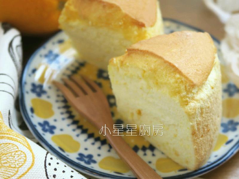 香甜軟綿!香吉士燙麵戚風蛋糕