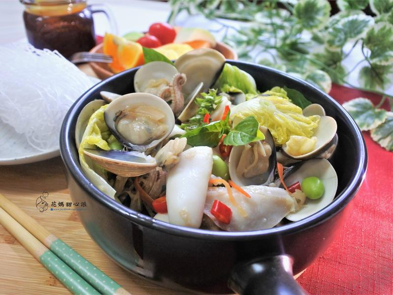 蛤蜊海鮮鍋