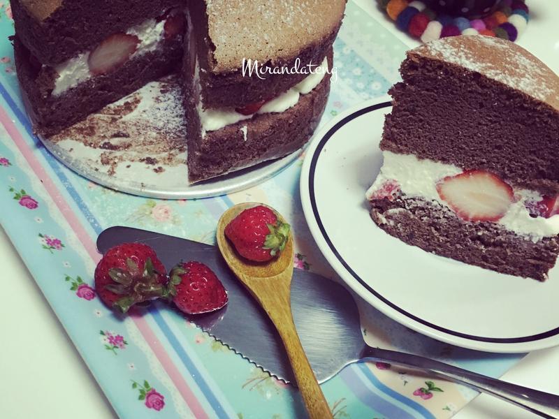 可可棉花蛋糕(不用倒扣)