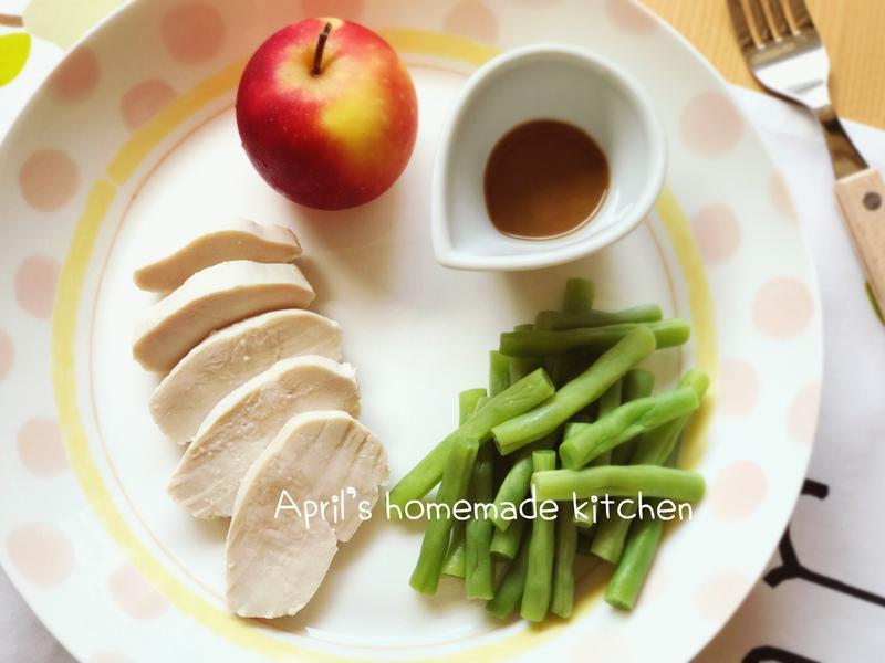 鹽漬檸檬雞肉火腿沙拉 低卡好健康