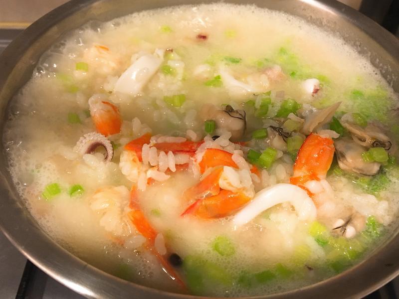 鮮味十足海鮮粥