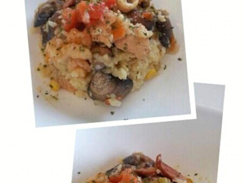 AMC 健康烹飪~西班牙海鮮燉飯