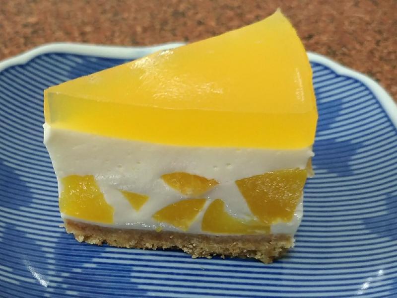 🍊🍑🎂柳橙蜜桃乳酪蛋糕🎂🍑🍊