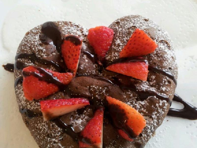 AMC 健康烹飪~草莓巧克力布朗尼