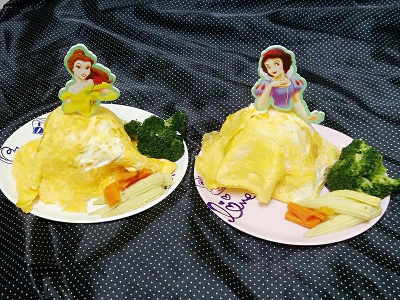 公主蕃茄蛋包飯