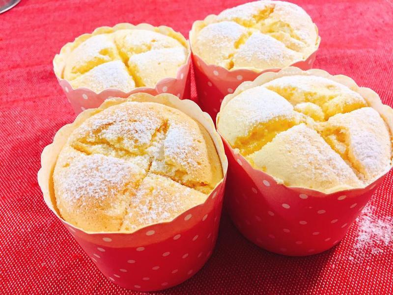 韓國柚子醬杯子蛋糕.清爽版