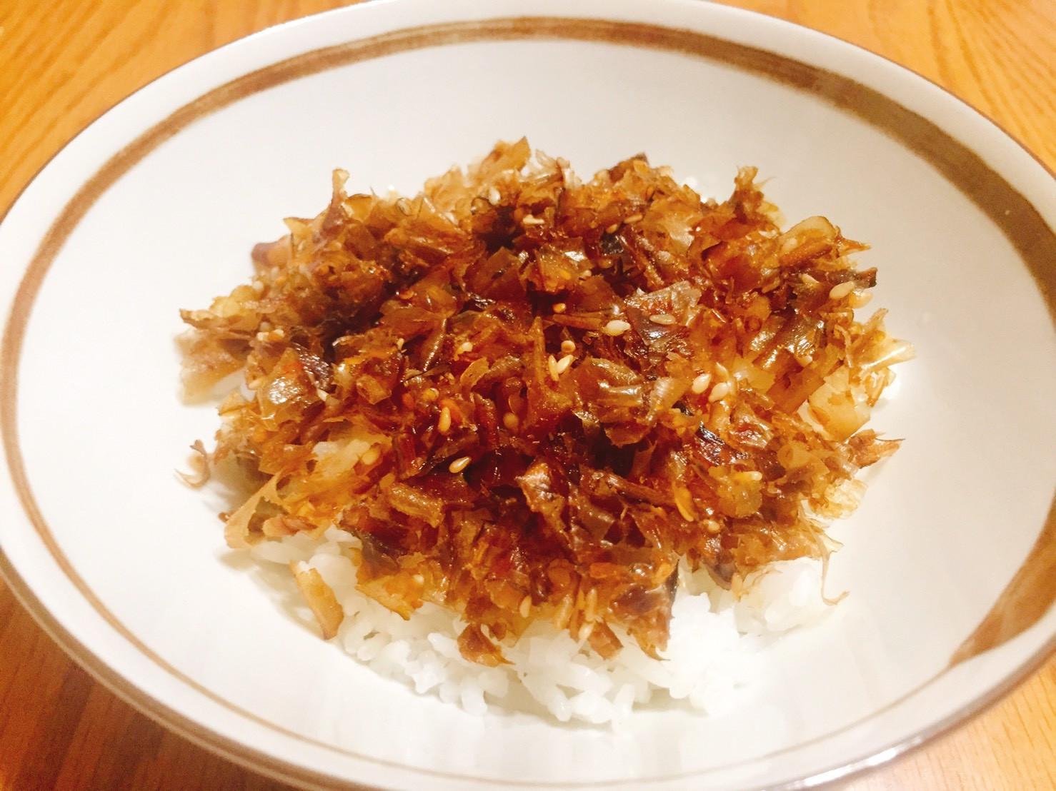 柴魚鬆 (鰹節のふりかけ)