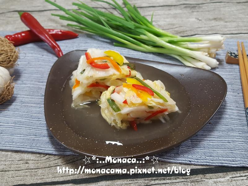 韓式白泡菜백김치