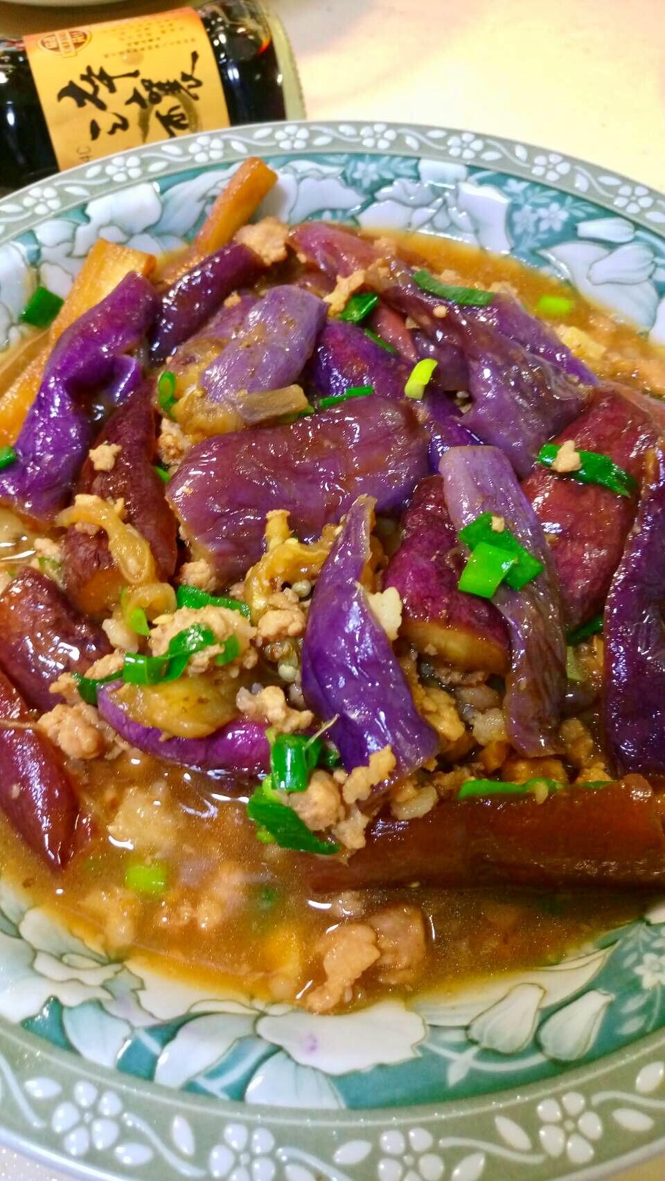 用蒸的紫茄之魚香茄子【淬釀全菜單挑戰賽】
