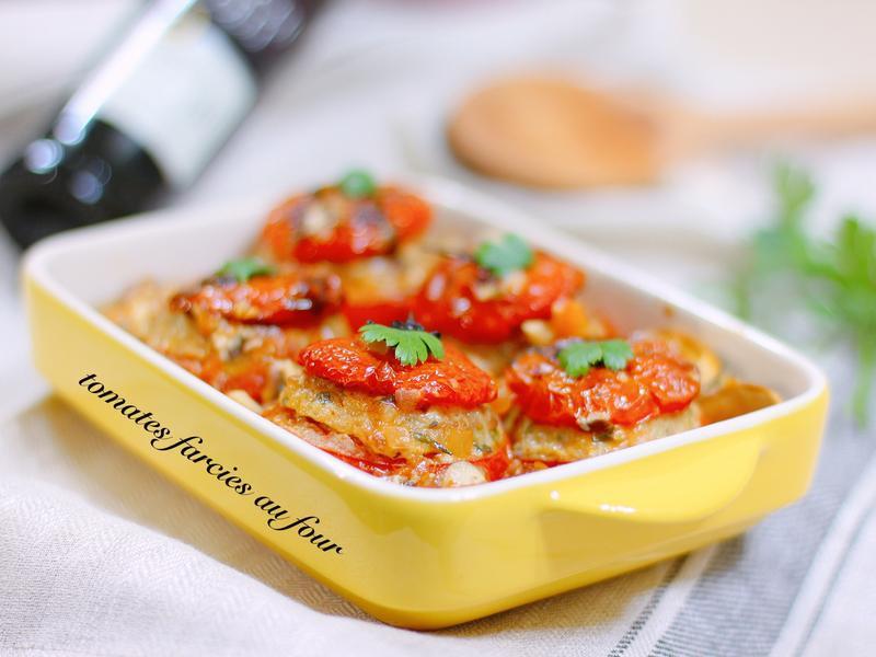 法式填餡蕃茄 tomate farcie