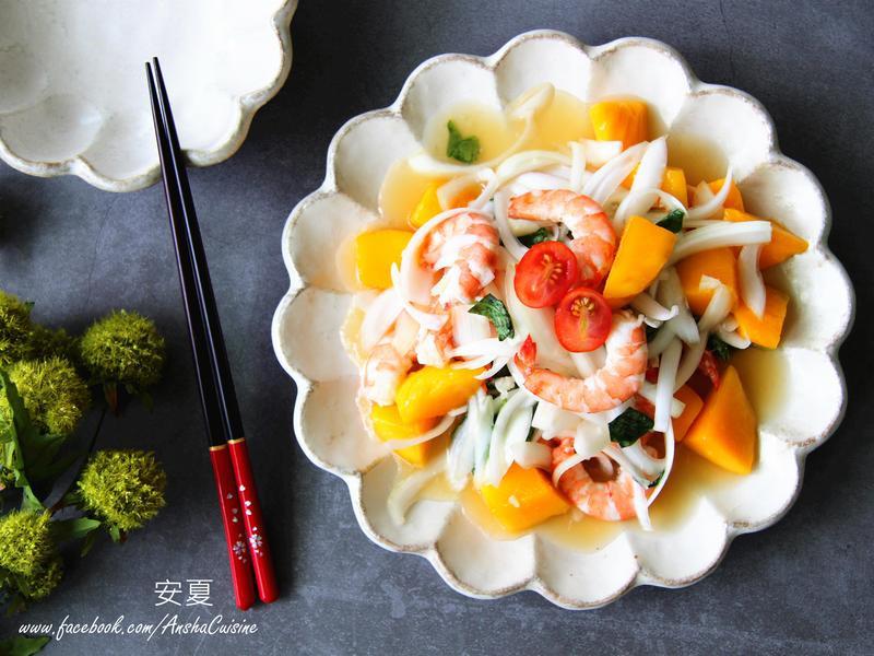 泰式涼拌芒果海鮮