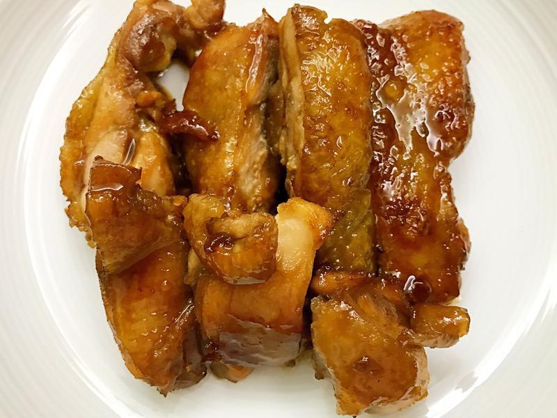 お弁当-170601-照燒雞腿