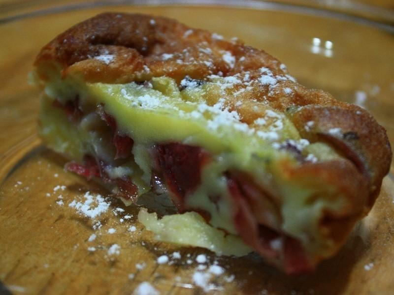 洛神花克拉芙提(法式布丁蛋糕)