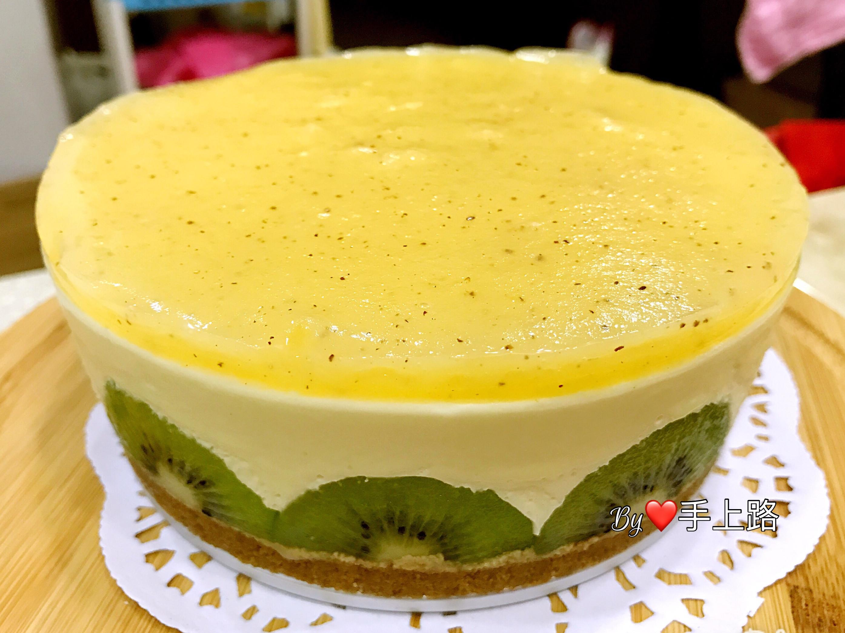 🥝奇異果凍乳酪蛋糕🥝(6吋、免烤箱)