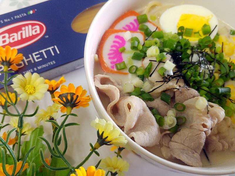 日式牛奶味噌湯義麵【百味來私房美味】