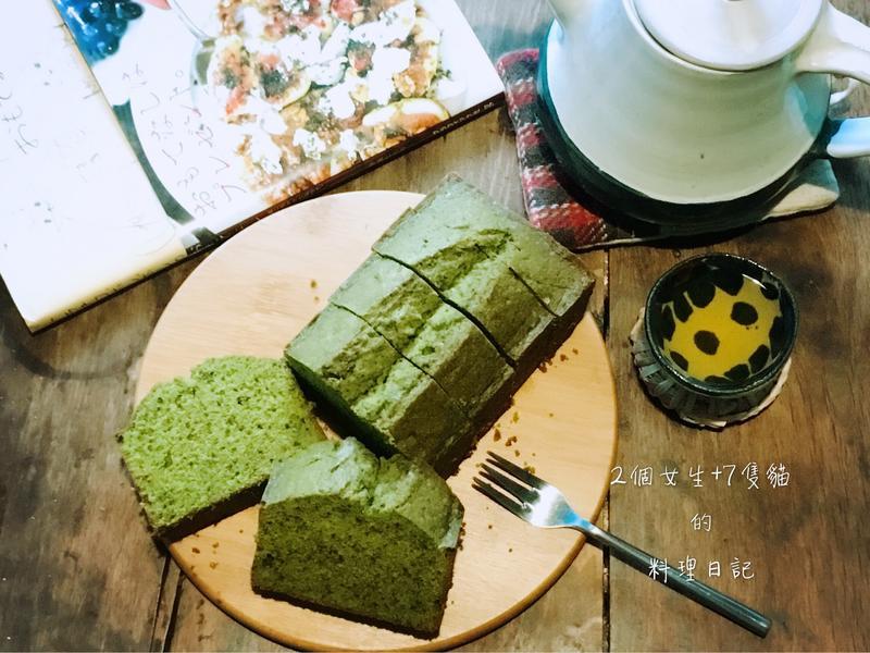 濃厚抹茶拿鐵磅蛋糕【全蛋法】