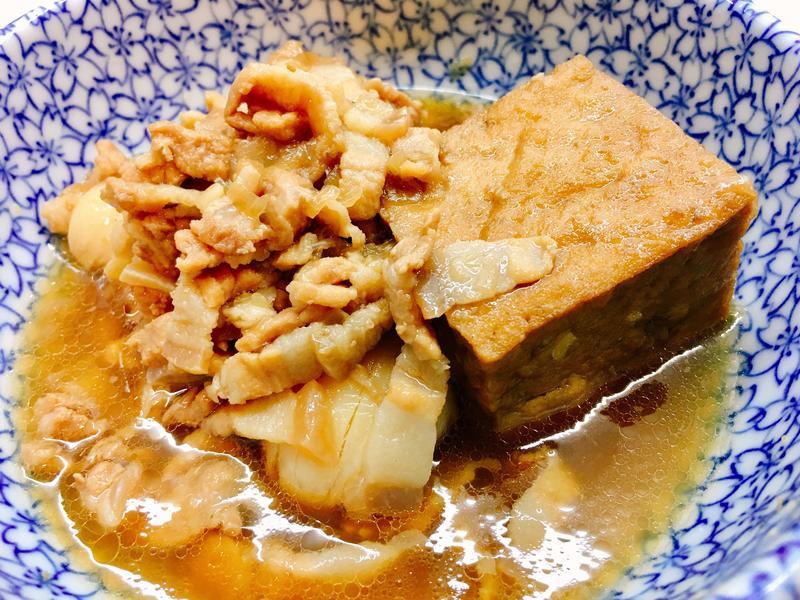 滷肉油豆腐《手工切➕香料版》