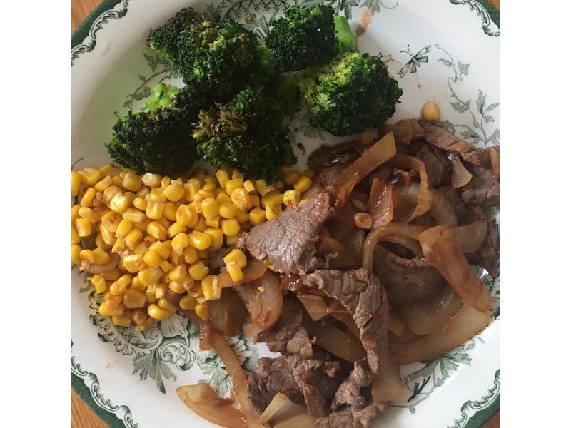 加場洋蔥炒牛肉