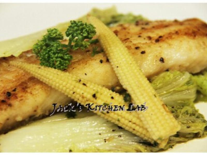 法式嫩煎鯛魚排