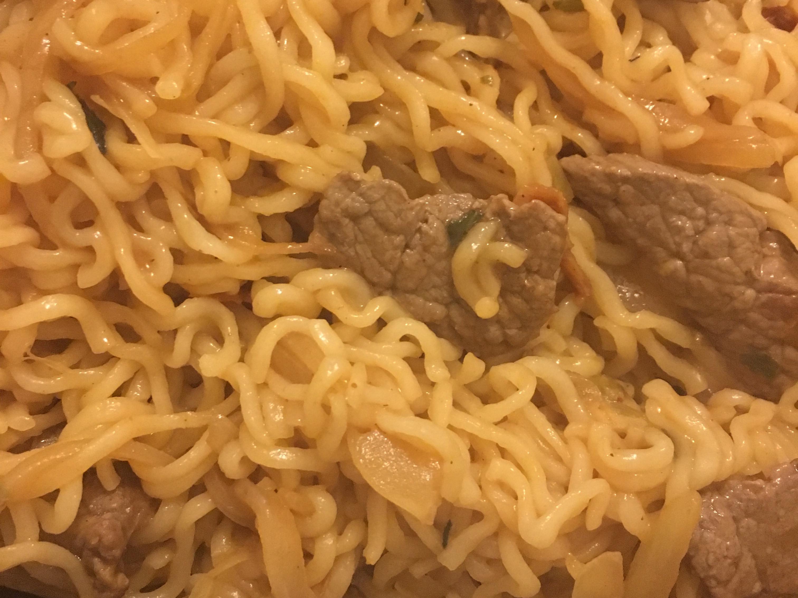 泡菜牛肉炒泡麵
