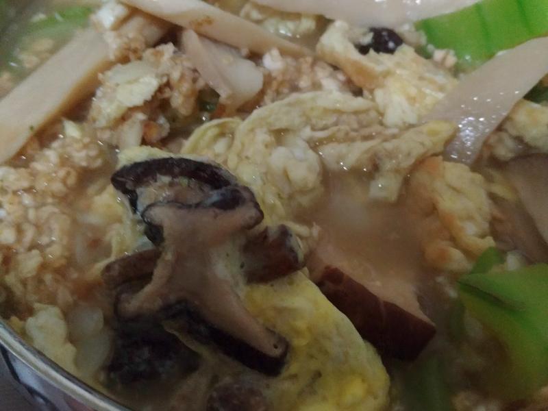 在外住宿簡易料理-絲瓜燕麥粥