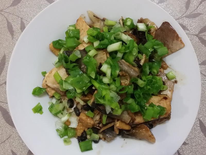 豆豉醬燒虱目魚肚