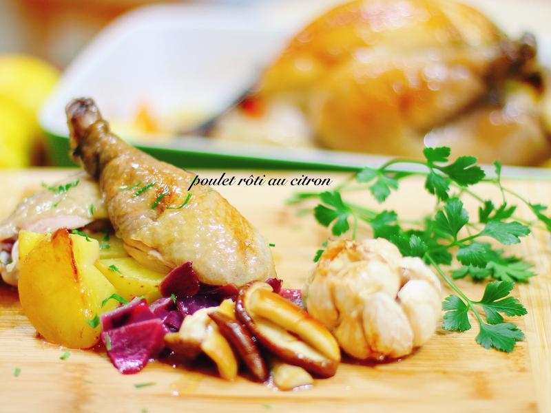 法國家常烤雞 poulet rôti