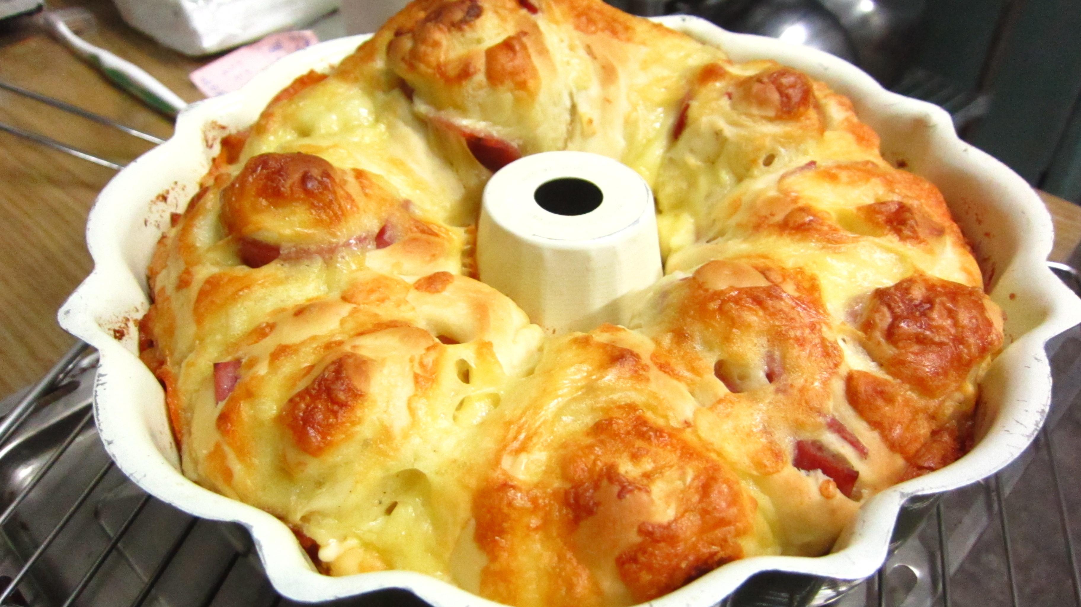 mozzarella火腿起司麵包