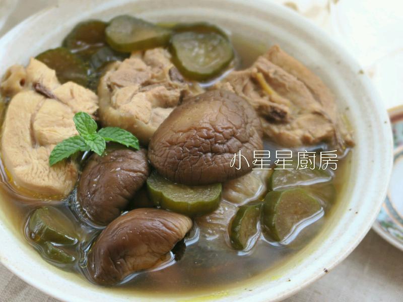 香菇瓜仔雞湯